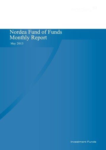 Nordea Fund of Funds Monthly Report - Nordea Bank Lietuva
