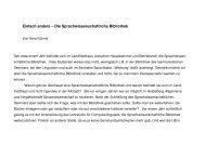 Einfach anders - Lehrstuhl für Computerlinguistik der Uni Heidelberg
