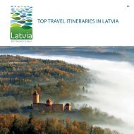 top travel itineraries in latvia - Latvian Tourism Development Agency