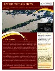 EAO Electronic Newsletter - VT DEC | Environmental Assistance ...