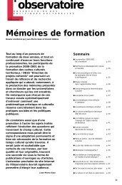 Mémoires 2000-2001 - Arald