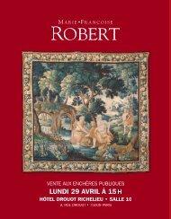 VENTE DU 29 AVRIL 2013:Mise en page 1 - Art Auction Robert