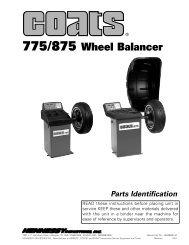 Coats 775 Wheel Balancer - NY Tech Supply