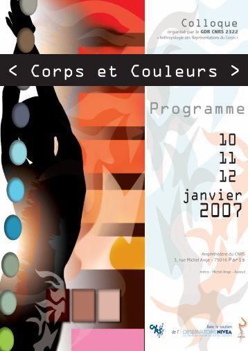 « Corps et Couleurs » - Calenda