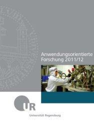 Anwendungsorientierte Forschung 2011/12