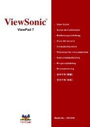 VPAD7 User Guide, Deutshland/German - Viewsonic
