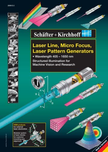 Laser Line, Micro Focus, Laser Pattern Generators
