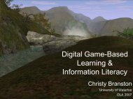 Digital Game-Based Learning & Information Literacy - Accessola2