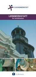 Flyer Glockenwerkstatt - St. Michaelis