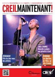 Magazine Creil Maintenant n° 22 Février - Mars 2013 - Ville de Creil