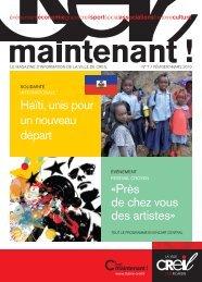 Haïti, unis pour un nouveau départ - Ville de Creil