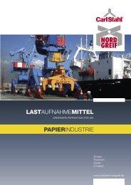 Katalog für die Papierindustrie als PDF-Datei herunterladen...