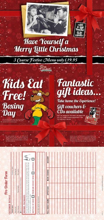 Download LF Xmas - Frankie and Bennys