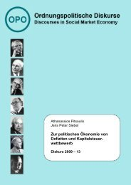2009 – 13 - Ordnungspolitisches Portal