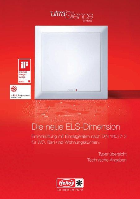 Helios Unterputz-Gehäuse ultraSilence ELS-GUBZR Brandschutz-Ummantellung K 90
