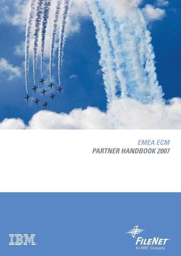 EMEA ECM PARTNER HANDBOOK 2007 - ereview
