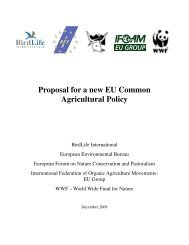 Proposal for a new EU Common Agricultural Policy - Groupe de ...
