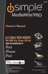 MediaWire™PRO - PAC Audio