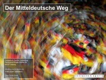 Der Mitteldeutsche Weg - Plattform Sportrecht
