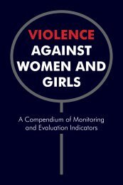 violence against women and girls - Population Reference Bureau