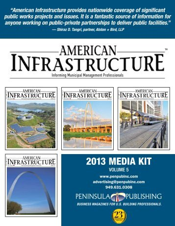2013 Media Kit - Peninsula Publishing