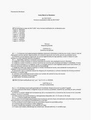 Parlamentul României Codul Muncii al României din 24/01/2003 ...