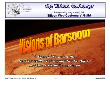 The Virtual Costumer Volume 7 Issue 3 - Silicon Web Costumers' Guild