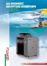 gas-brennwert absorptions-wärmepumpe - Schütt & Freitag GmbH