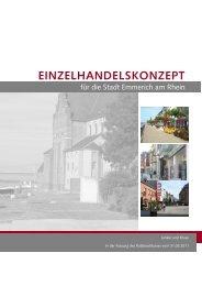 Einzelhandelskonzept 2011 - Emmerich
