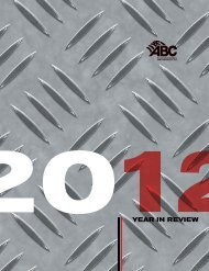 ABC 2012 Year in Review - Associated Builders and Contractors