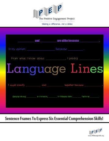 language_lines_sentence_frames