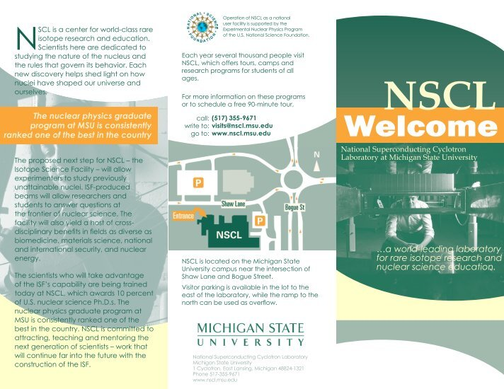 msu nscl thesis Electron-captures in supernoaev by leshawna aldezv a thesis submitted to michigan state university in partial ful llment of the requirements for the degree of.