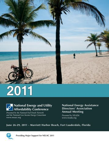 2011 - National Energy and Utility Affordability Conference