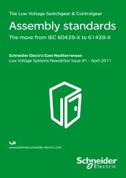 Assembly standards - Schneider Electric