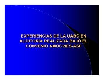 Universidad Autónoma de Baja California - Amocvies