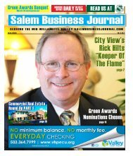 Feb 2013 - Salem Business Journal