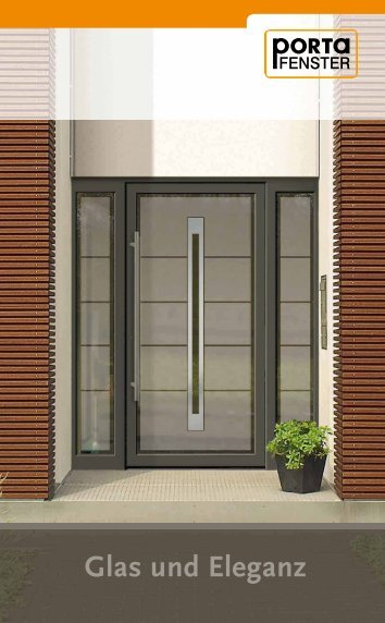 Ganzglas - Porta Fenster