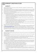 takuu garanti warranty garantie garantii gwarancja гарантия ... - Page 6