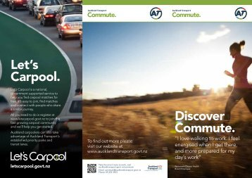Discover Commute brochure (PDF 249KB) - Auckland Transport