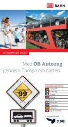Med DB Autozug gennem Europa om natten