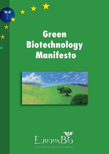 Introduction to Green Biotechnology