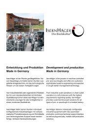 Entwicklung und Produktion Made in Germany - Isernhäger GmbH ...