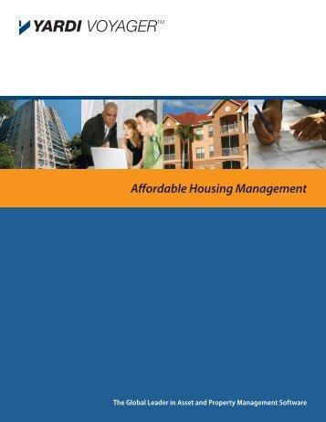 Affordable Housing Management - Yardi