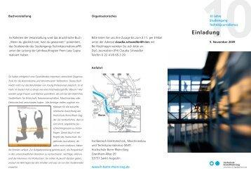 Einladung - Fachbereich Elektrotechnik, Maschinenbau und ...