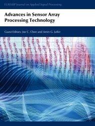 Advances in Sensor Array Processing Technology