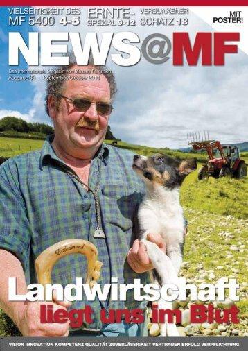 News@MF Ausgabe 33 (PDF 2,9 MB) - Landtechnik Scherndl-Figl