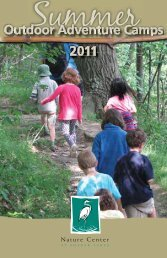 Outdoor Adventure Camps 2011 - Nature Center at Shaker Lakes