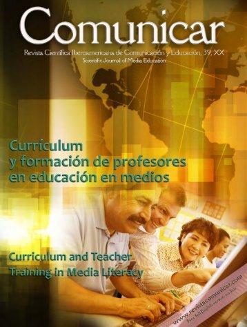 Comunicar 39 - Revista Comunicar