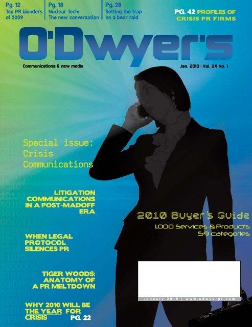 2010 Buyer's Guide - Odwyerpr.com