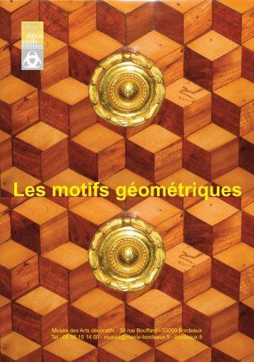 Motifs Géométriques - Bordeaux